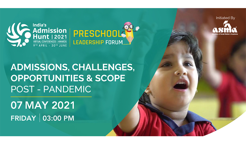 ASMA to Host a Preschool Leadership Forum 2021
